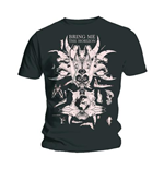 T-shirt Bring Me The Horizon: Skull & Bones