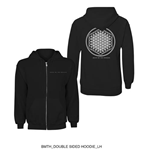 Sweat à Capuche Bring Me The Horizon : Flower of Life
