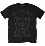 T-shirt Bring Me The Horizon: Hand Drawn Shield