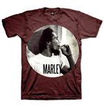T-shirt Bob Marley: Smokin Circle