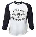 T-shirt Manches Longues Avenged Sevenfold: Classic Death Bat