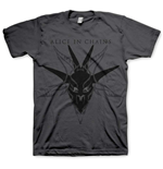 T-shirt Alice in Chains: Black Skull