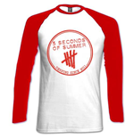 T-shirt 5 Seconds of Summer Manches Raglan: Derping Stamp