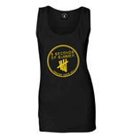 T-shirt Sans Manches Moulant 5 Seconds of Summer: Derping Stamp