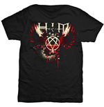 T-shirt Him: Wings Splatter