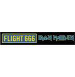 Banderole Iron Maiden: Flight 666