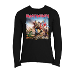 T-shirt Manches Longues Iron Maiden: Trooper