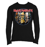 T-shirt Manches Longues Iron Maiden: Eddie Evolution