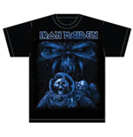 T-shirt Iron Maiden: Final Frontier Blue Album Spaceman