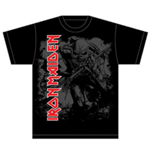 T-shirt Iron Maiden: Hi Contrast Trooper