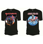 T-shirt Iron Maiden: Euro Tour