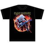 T-shirt Iron Maiden: Fear Live Flames
