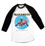 T-shirt Iron Maiden Manches Longues Raglan: Seventh Son