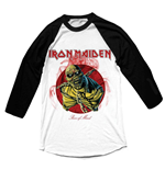 T-shirt Iron Maiden Manches Longues Raglan: Piece of Mind