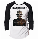 T-shirt Manches Longues Raglan Iron Maiden: Book of Souls