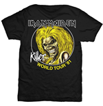 T-shirt Iron Maiden: Killer World Tour '81
