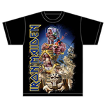 T-shirt Iron Maiden: Somewhere Back in Time