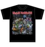 T-shirt Iron Maiden: Knebworth Moon buggy