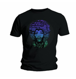 T-shirt Jimi Hendrix: Afro Speech
