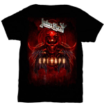 T-shirt Judas Priest: Epitaph Red Horns