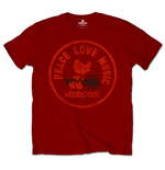 T-shirt Woodstock: Love Peace Music