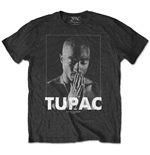 T-shirt Tupac: Praying