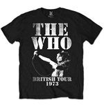 T-shirt The Who: British Tour 1973