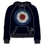 Sweat à Capuche The Who: Target Distressed