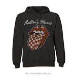 Sweat à Capuche The Rolling Stones: Checker Tongue