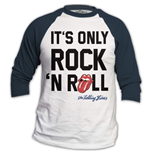 T-shirt Manches Longues Raglan The Rolling Stones: Only Rock n' Roll