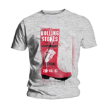 T-shirt The Rolling Stones: Glastonbury Red Wellie
