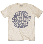 T-shirt The Rolling Stones: Vintage 70's Logo