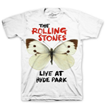 T-shirt The Rolling Stones: Butterfly Hyde Park