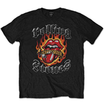 T-shirt The Rolling Stones: Flaming Tattoo Tongue