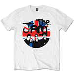 T-shirt The Jam: Union Jack Circle