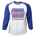 T-shirt The Doors Manches Longues Raglan: L'America