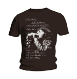 T-shirt The Doors: LA Woman Lyrics