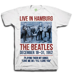 "T-shirt The Beatles: ""1962"" Live in Hamburg"