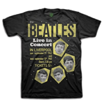 "T-shirt The Beatles: ""1962"" Live in Concert"