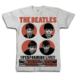 T-shirt The Beatles: 1962 Performing Live