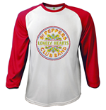 T-shirt The Beatles Manches Longues Raglan: Sgt Pepper