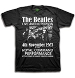 T-shirt The Beatles: Live & in Person