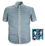 "Chemise Formelle The Beatles: ""1967"" Heads Pattern"