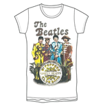 T-shirt The Beatles: Sgt Pepper Band & Drum