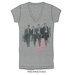 T-shirt The Beatles en Strass: Love me do