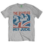 T-shirt The Beatles: Windswept/Hey Jude