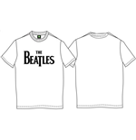 T-shirt The Beatles: Drop T Logo
