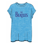 T-shirt The Beatles Burn-out: Drop T Logo
