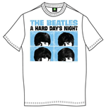 T-shirt The Beatles: Hard Days Night Pastel