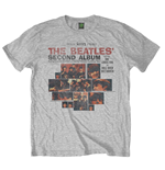 T-shirt The Beatles: Second Album (Small)